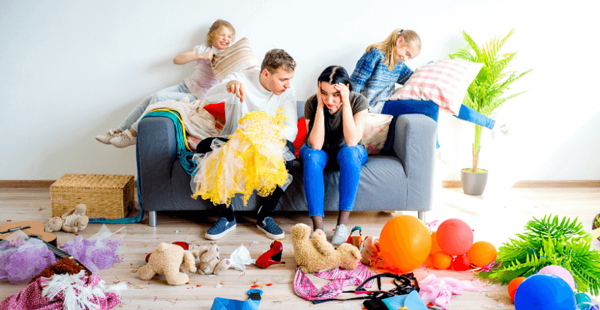 Articol pentru mamici: cum gestionam dezordinea copiilor